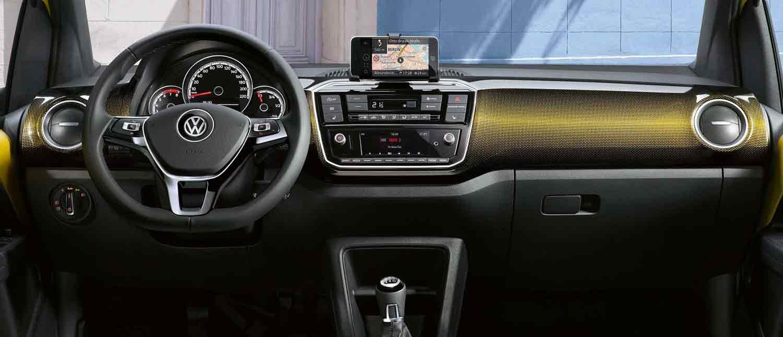 Vw up interior