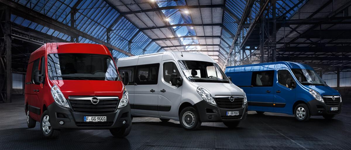 Opel Movano Erhvervsbiler Uggerhøj