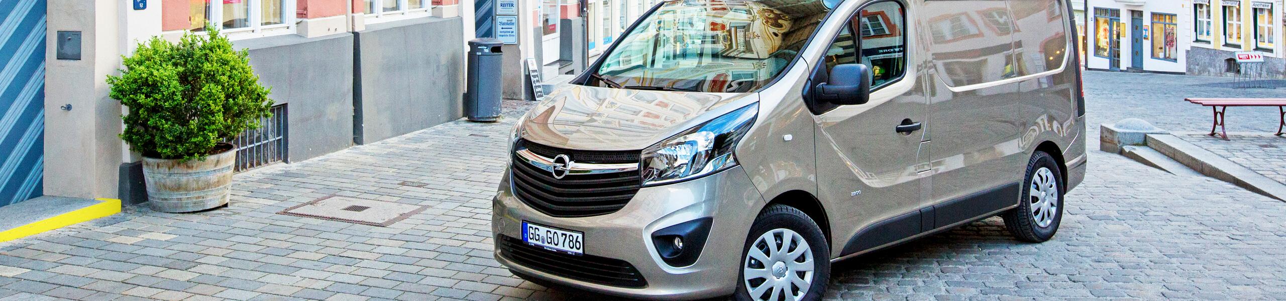Opel Vivaro erhverv