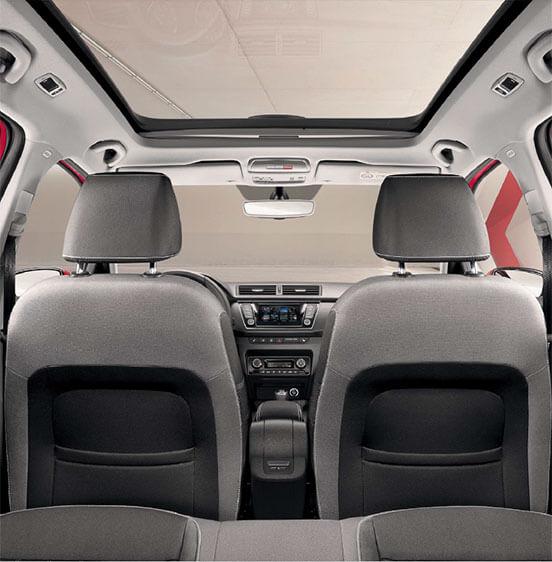 spacious car