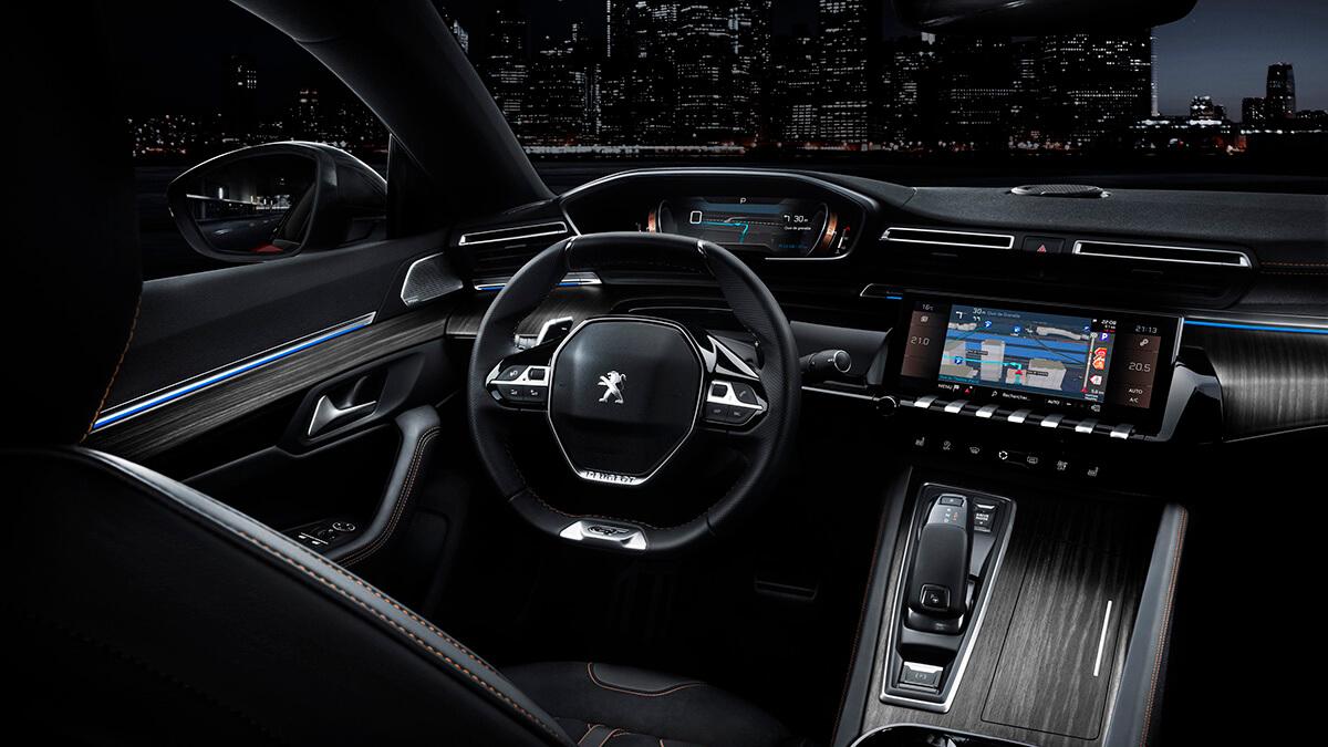 Ny Peugeot 508 interior