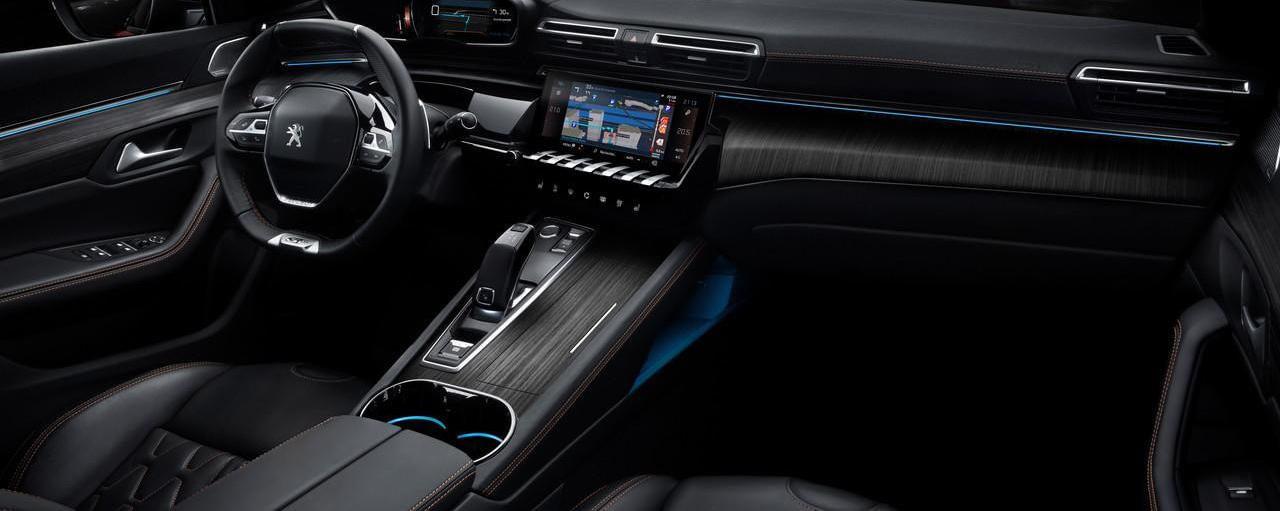 Ny Peugeot 508 interiør