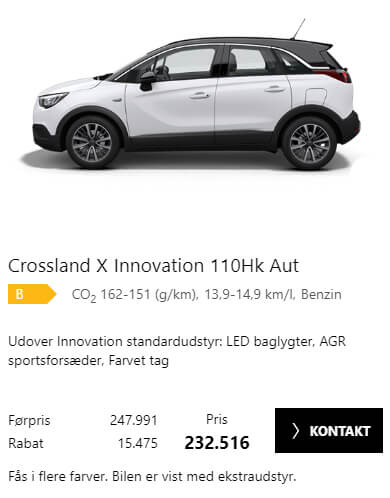 Opel Outlet hos Uggerhøj