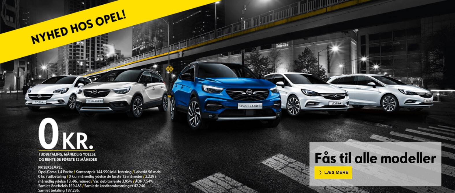 Afdragsfrit lån Opel