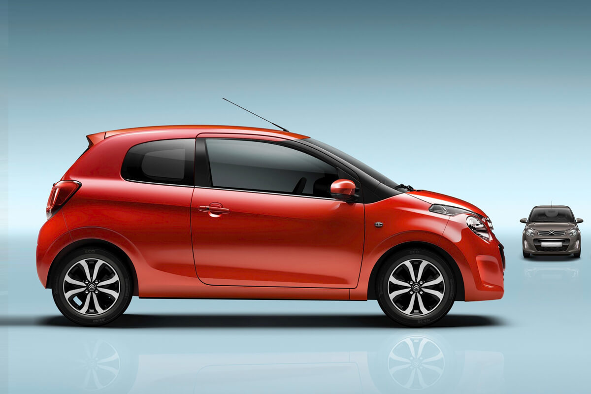 Lej din bil Citroën