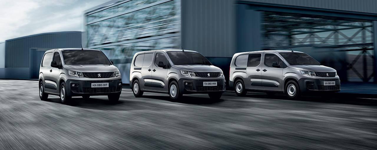 Peugeot erhverv modeller