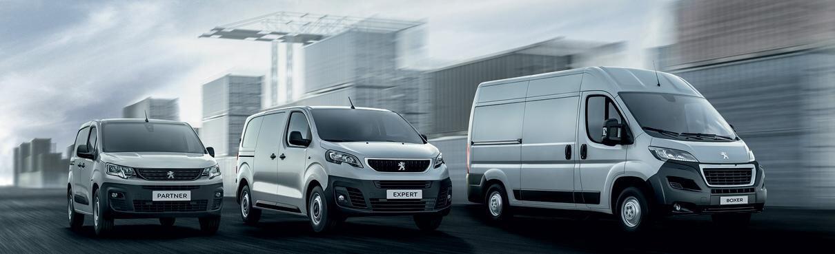 Book en prøvetur i din nye Peugeot erhvervsbil
