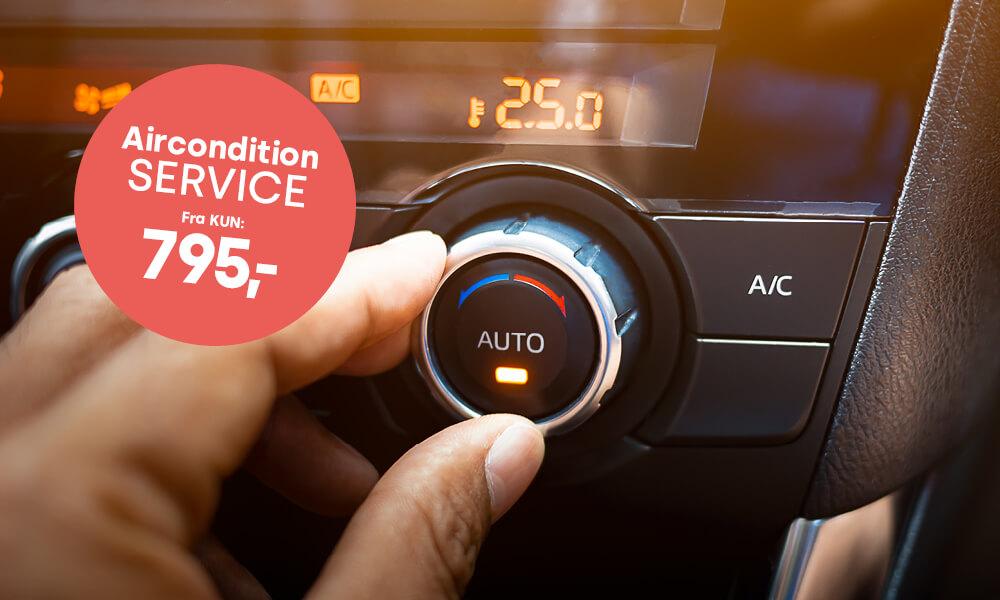 Aircondition og klima service fra kun 795,-