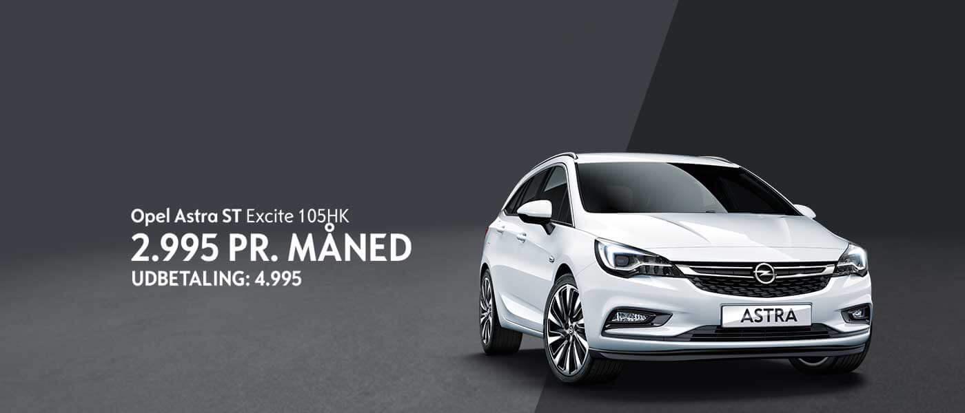 Opel Astra Privatleasing Uggerhøj