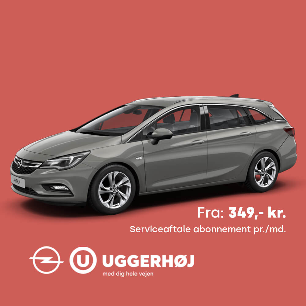 Uggerhøj Opel Serviceaftale Opel Astra