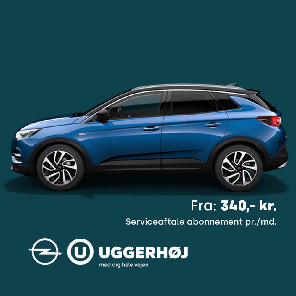 Uggerhøj Opel Serviceaftale Opel Grandland X