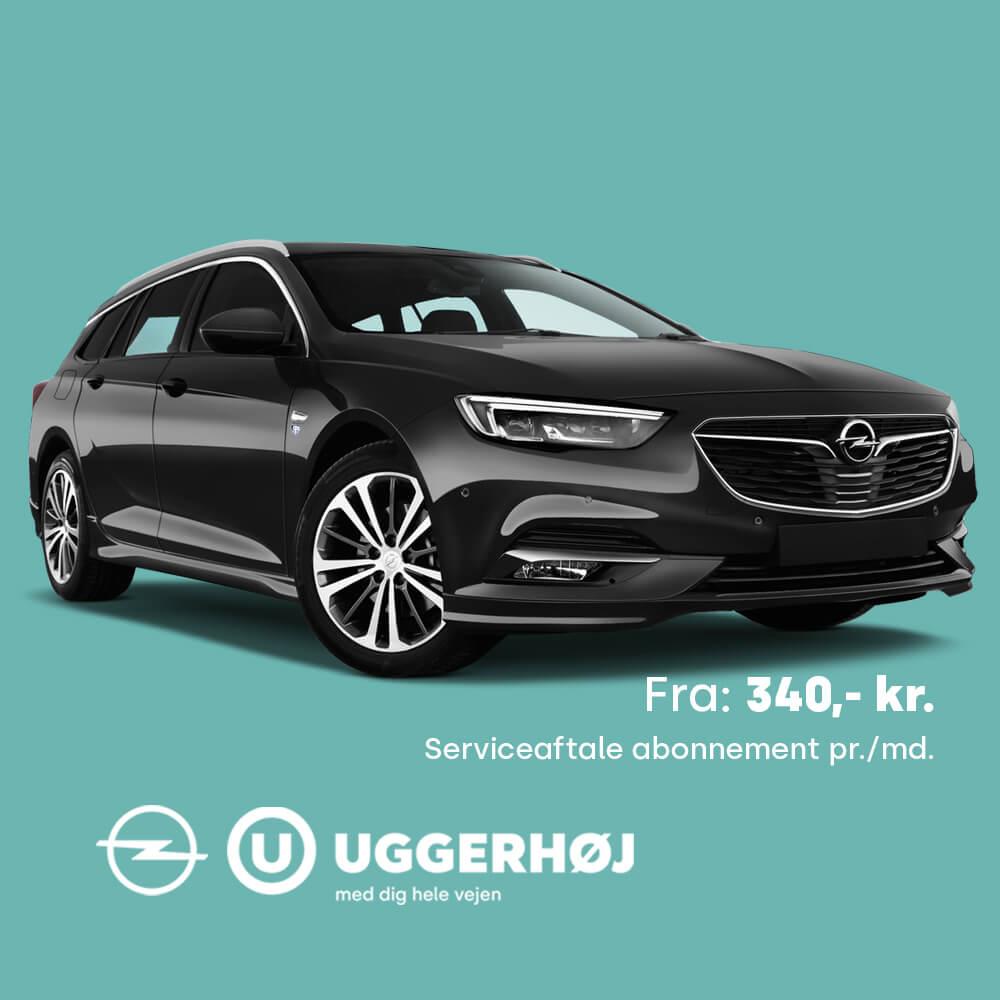 Uggerhøj Opel Serviceaftale Opel Insignia