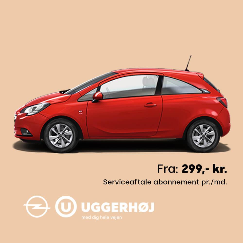 Uggerhøj Opel Serviceaftale Opel Corsa