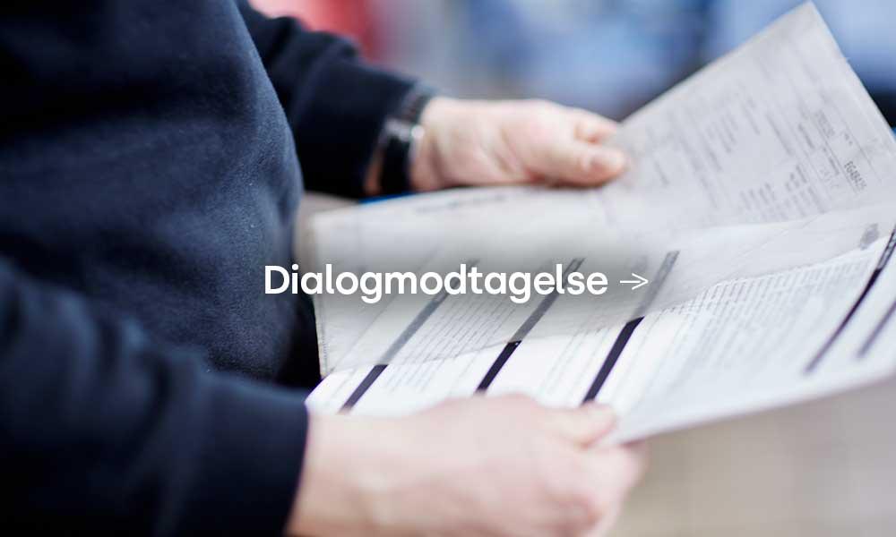 Volkswagen Frederikshavn dialogmodtagelse