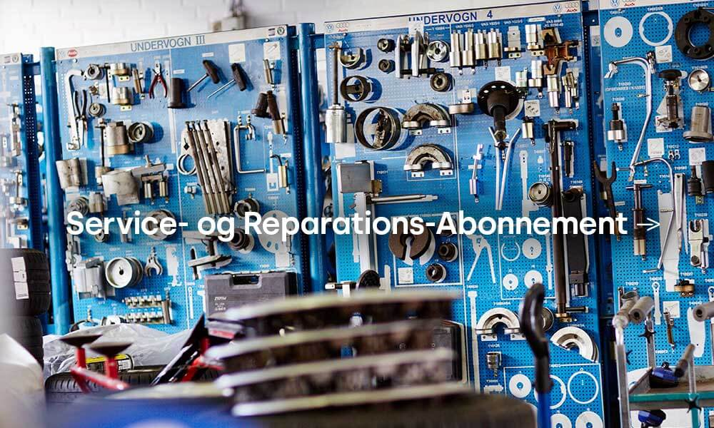 VW Service- og Reparations Abonnement Uggerhøj Brønderslev
