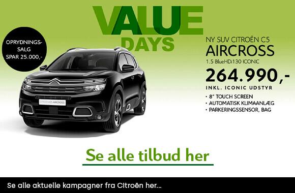 Citroën kampagner
