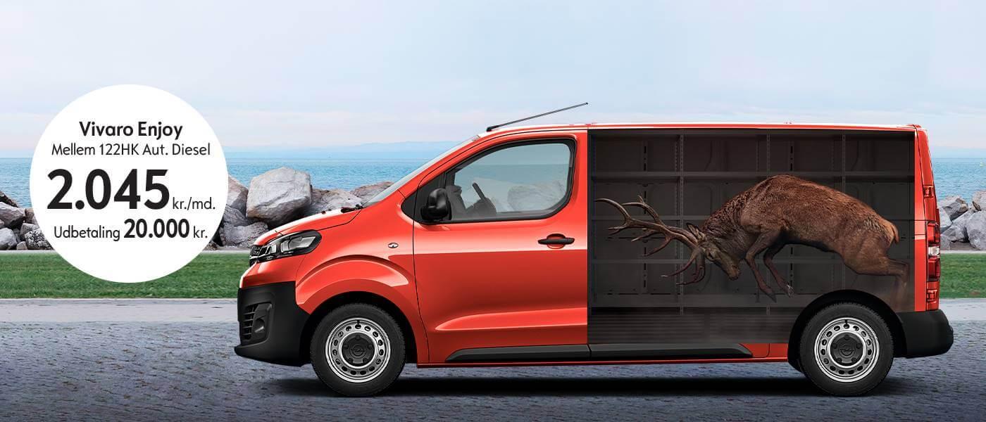 Ny Opel Vivaro Enjoy - Uggerhøj