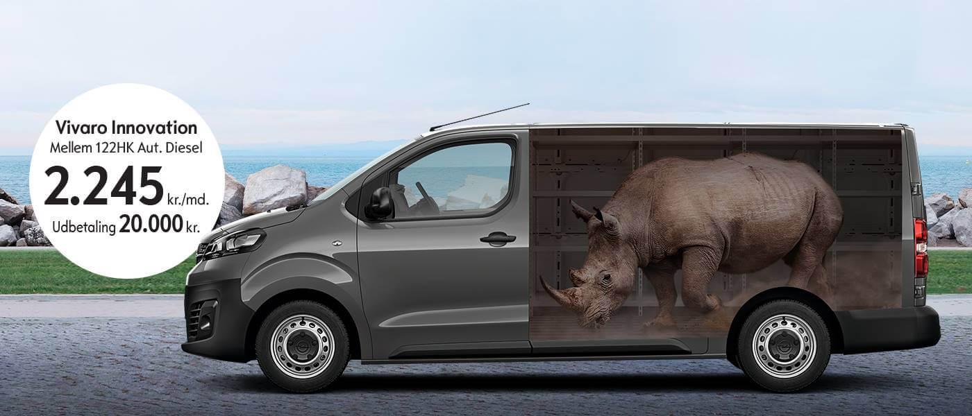 Ny Opel Vivaro - Uggerhøj