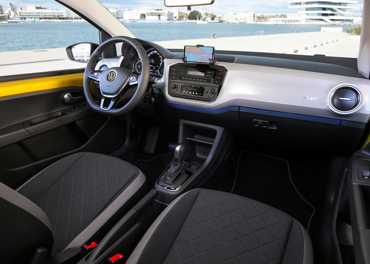 E-Up! interior