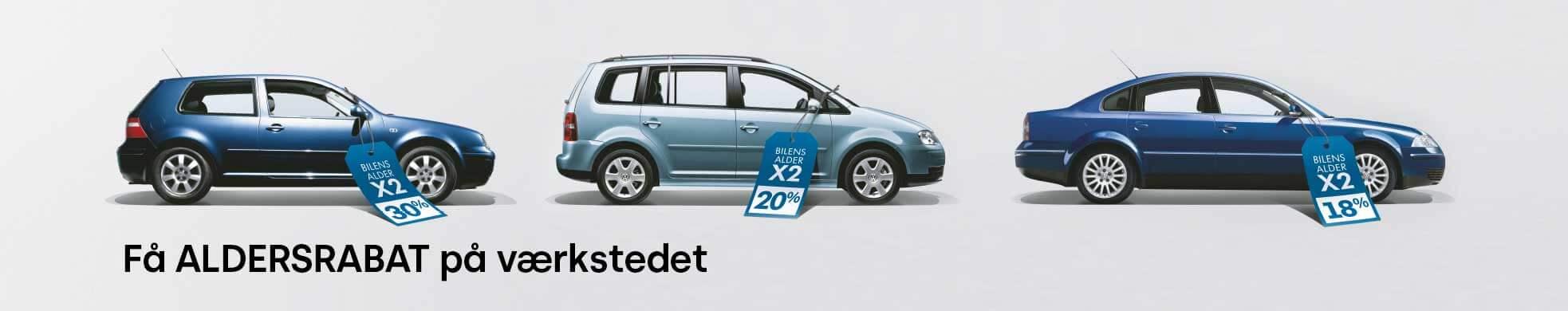 Volkswagen VW Aldersrabat Uggerhøj
