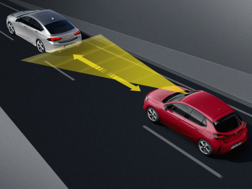 Opel Corsa lane-assist