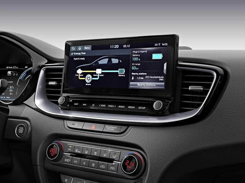 Opel Corsa bagagerum