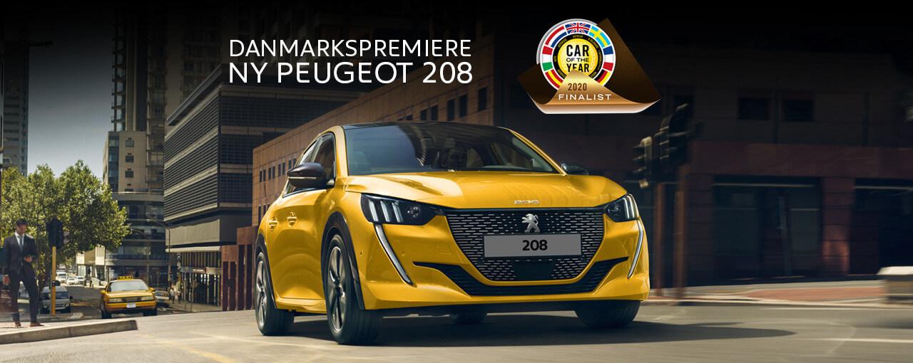 Uggerhøj ny Peugeot 208