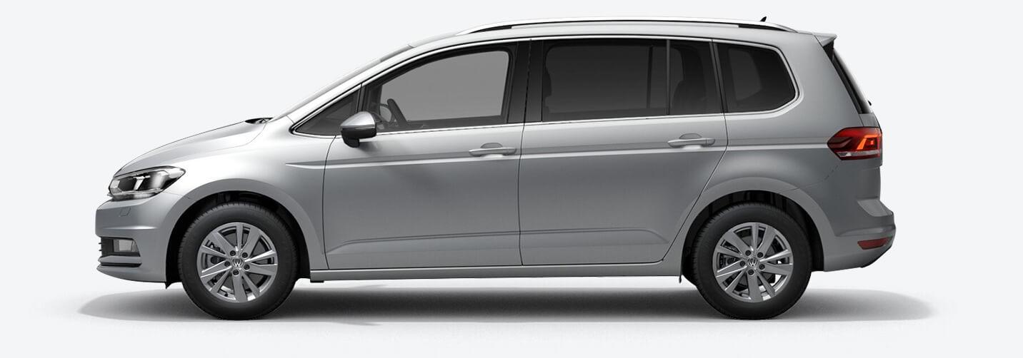 VW Touran - fra 3.399,- pr. md.
