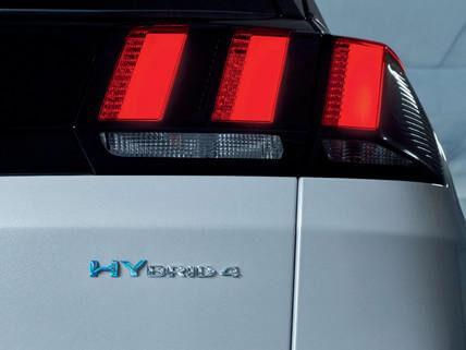 hybrid 3008 SUV