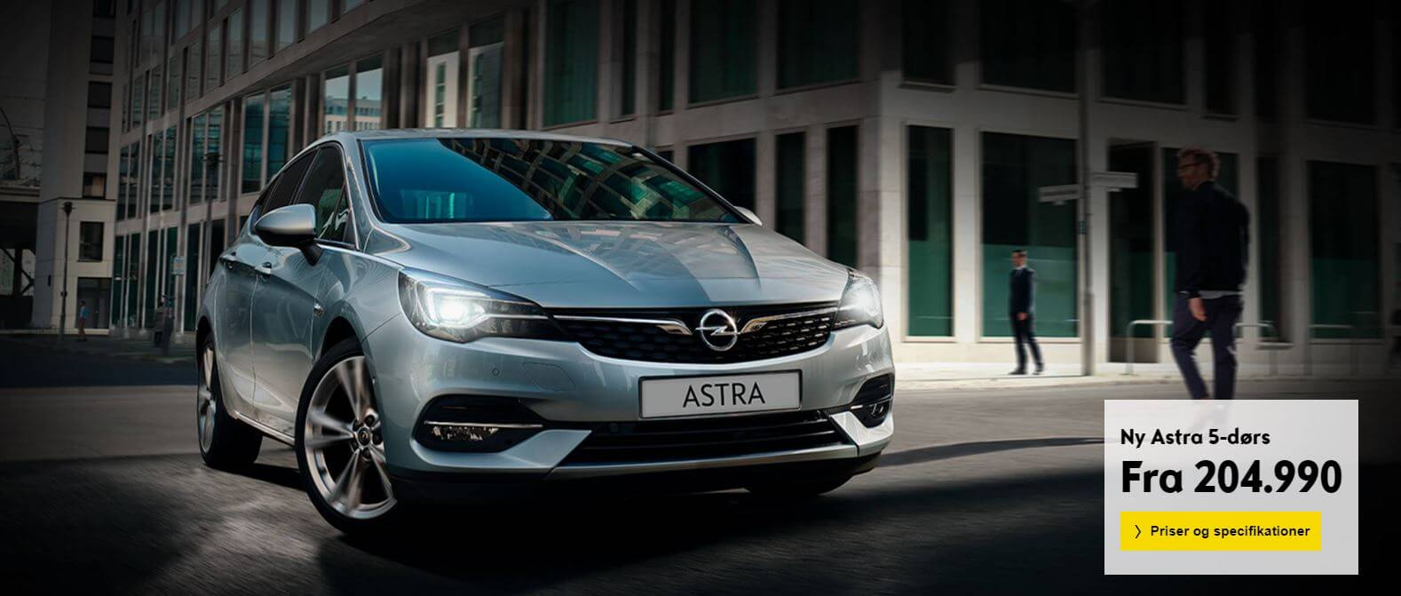 Uggerhøj Opel astra kampagne
