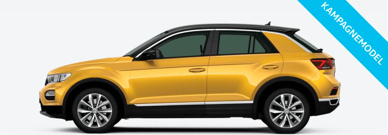 VW T-Roc - fra 3.599,- pr. md.