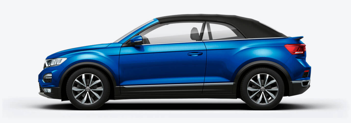 VW T-Roc Cabriolet - fra 4.999,- pr. md.