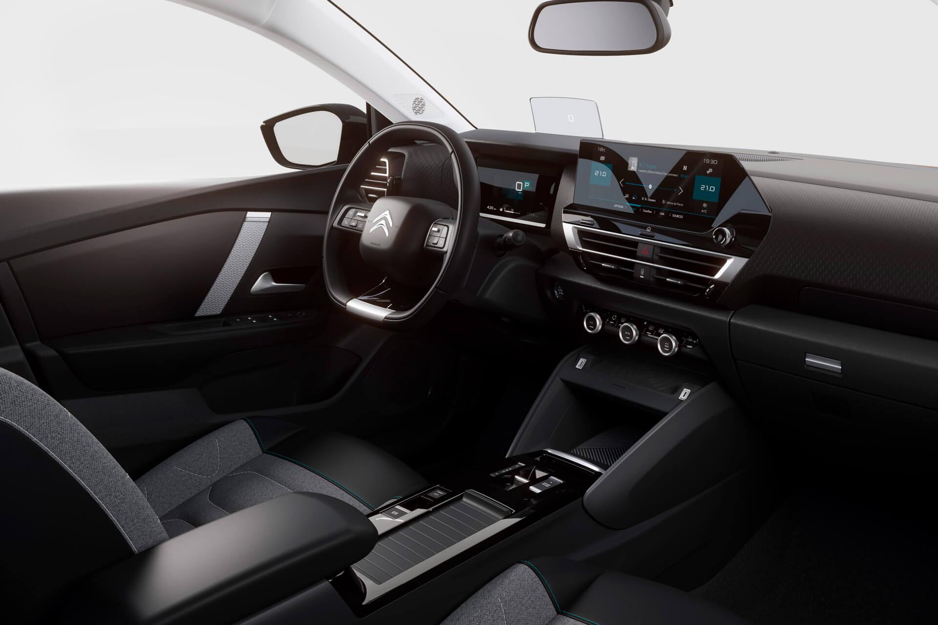 Ny Citroën C4 kabine