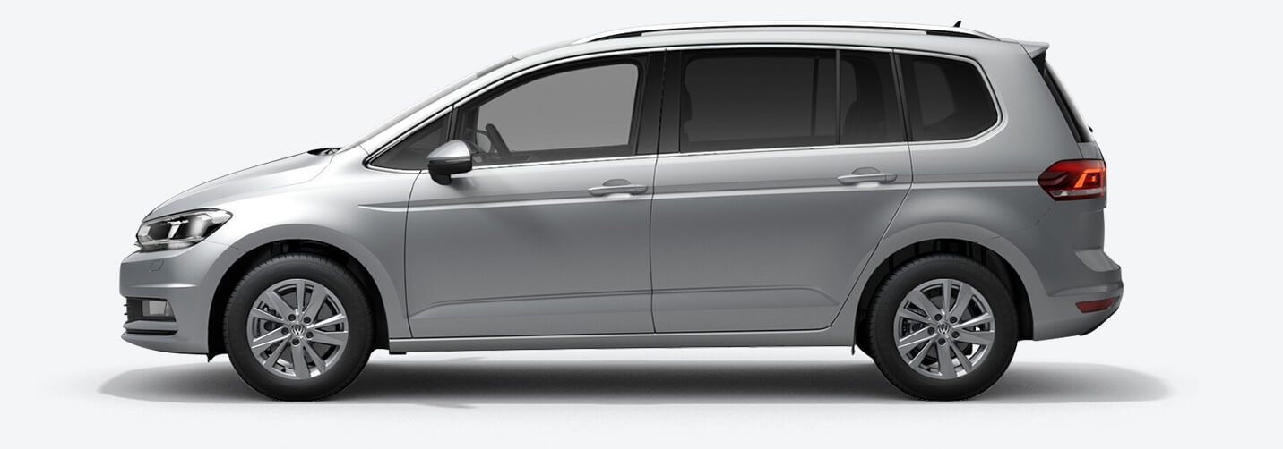 VW Touran - fra 3.999,- pr. md.