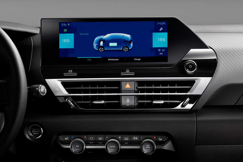 Ny Citroën C4 skærm