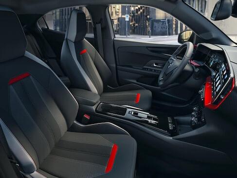 Opel interiør