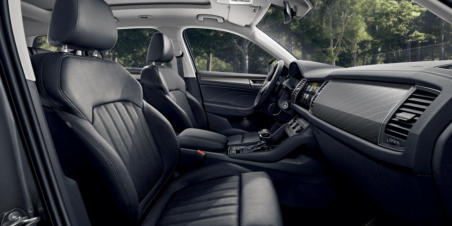SUV interior