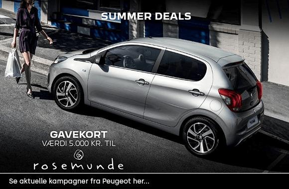 Peugeot kampagner